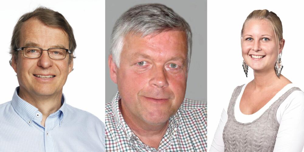 EKSPERTER: 1. Kolbjørn Mohn Jenssen, daglig leder Mycoteam. 2. Cato Ove Karlsen, daglig leder i Fagrådet for våtrom. 3. Lena Furuberg, rengjøringsekspert og Spesialrådgiver i Bygg & Facility Consult AS.