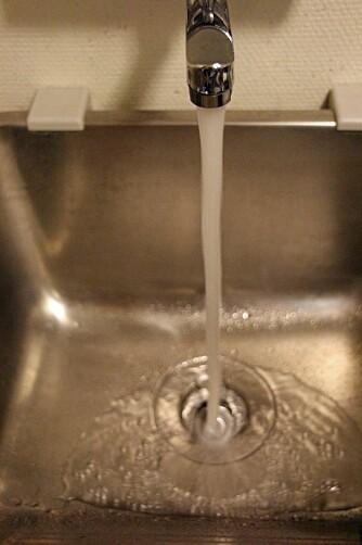 ETTERFYLLING: I noen tilfeller kan løsningen på luktproblemet være så enkelt som å etterfylle med vann, slik at vannlåsen, som skal hindre at lukt fra toalettet kommer på avveie, fylles opp.