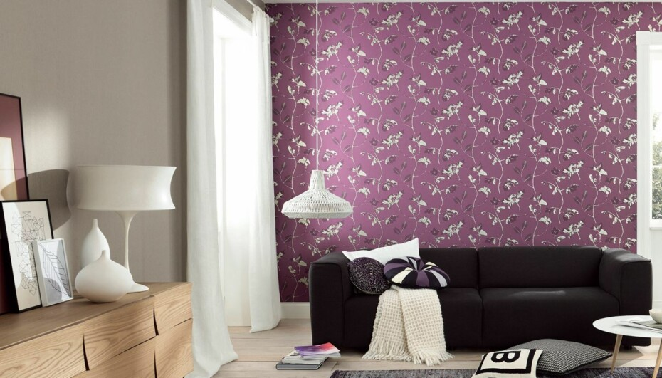 FARGER I INTERIØRET: Lek deg med farger på vegg og gulv - eller tak. Det kan imidlertid være greit med noen tips på veien.