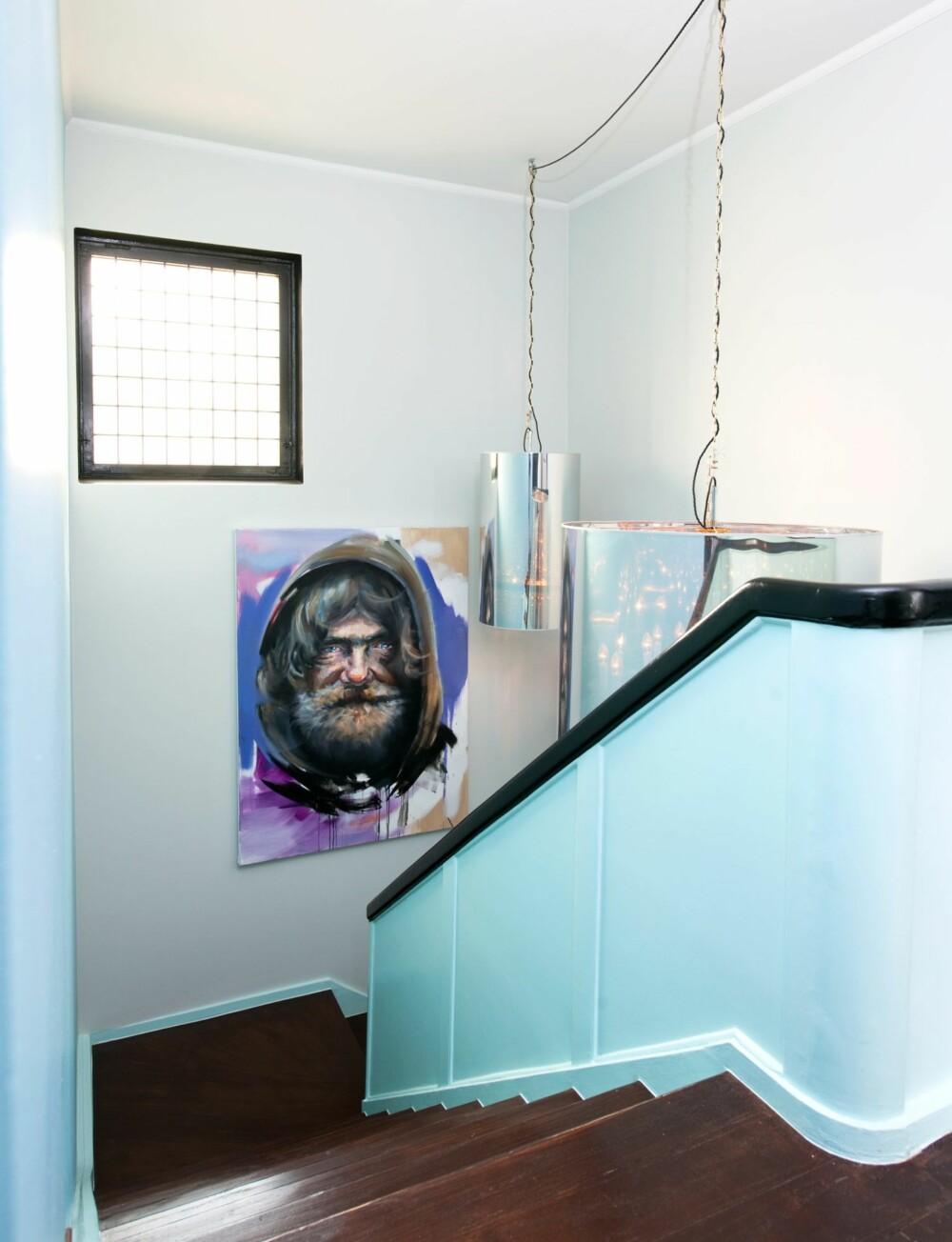 HJEMLØS I HJEMMET: Kristoffer Evangs portrett av en hjemløs setter boligen i perspektiv.