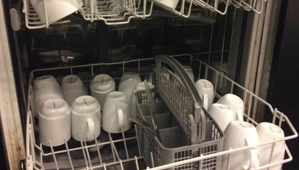 VOND LUKT I OPPVASKMASKIN: Med enkle grep kan du bli kvitt vond lukt i oppvaskmaskinen.