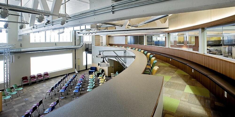 UTFORMING: Det er det amerikanske arkitektfirmaet Strada som har utformet kontorene i Pittsburgh for Google.
