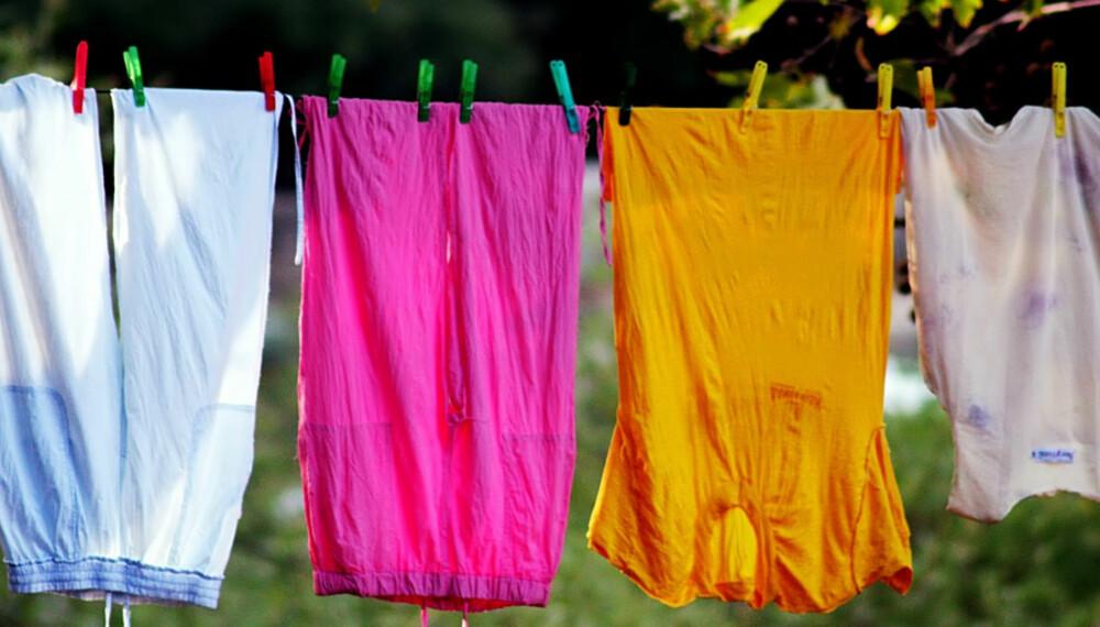RENT AV VANN: Alternative vaskemetoder fjerner skitt og lort akkurat like effektivt som rent vann.