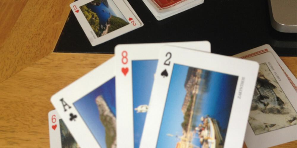RASKT UTE: Målet med Idiot er å bli den første som kvitter seg med alle kortene sine.
