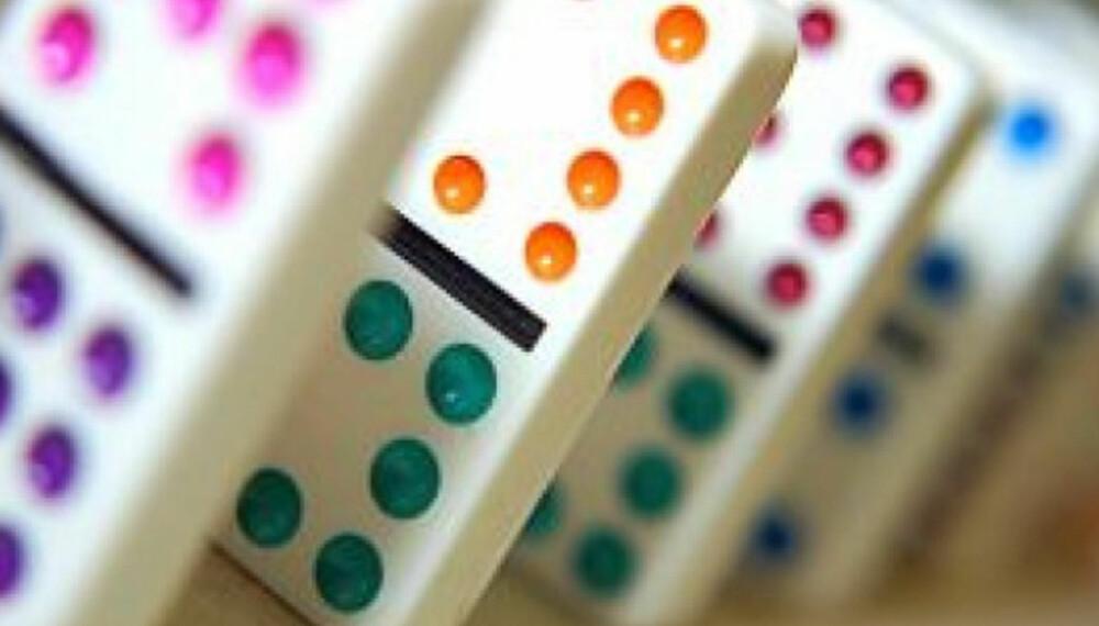 DOMINO: Slik er reglene for brikke-spillet Domino.