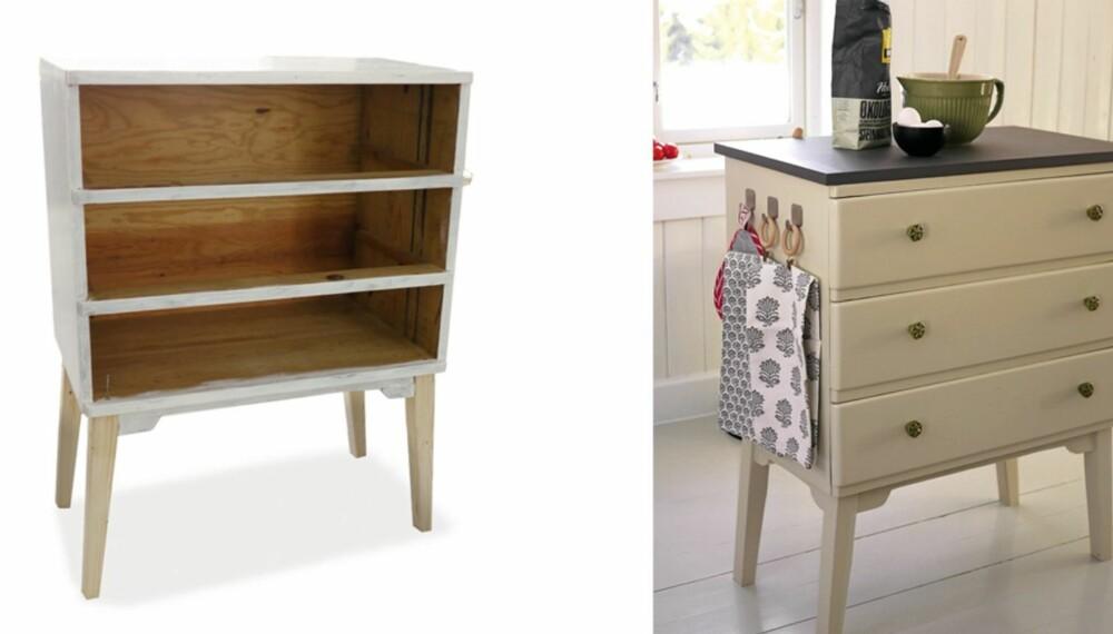 MER PLASS: En kjøkkenøy er minst like smart på hytta som hjemme.