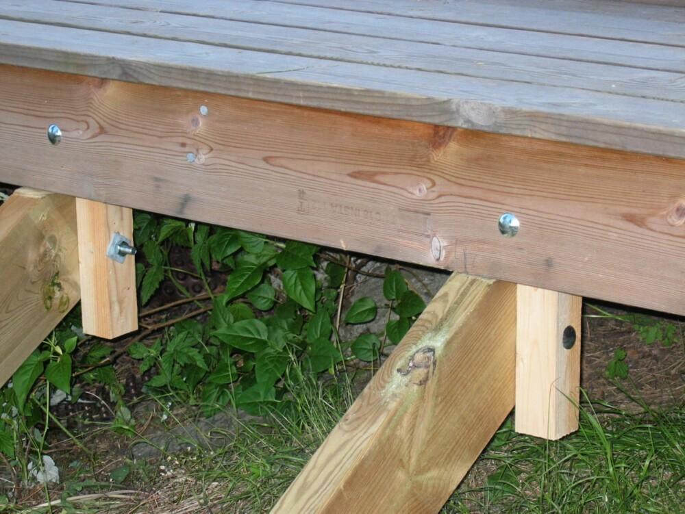 Hvordan bygge en trapp på hytta?