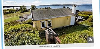 LINDØYA: Prisantydning 4.190 000 kroner. Primærrom 60 kvadratmeter med to soverom. Byggeår 1965.