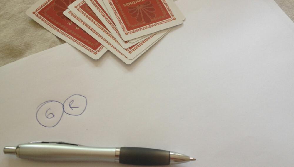 HVEM BLIR GRIS: Slik er reglene for kortspillet Gris.
