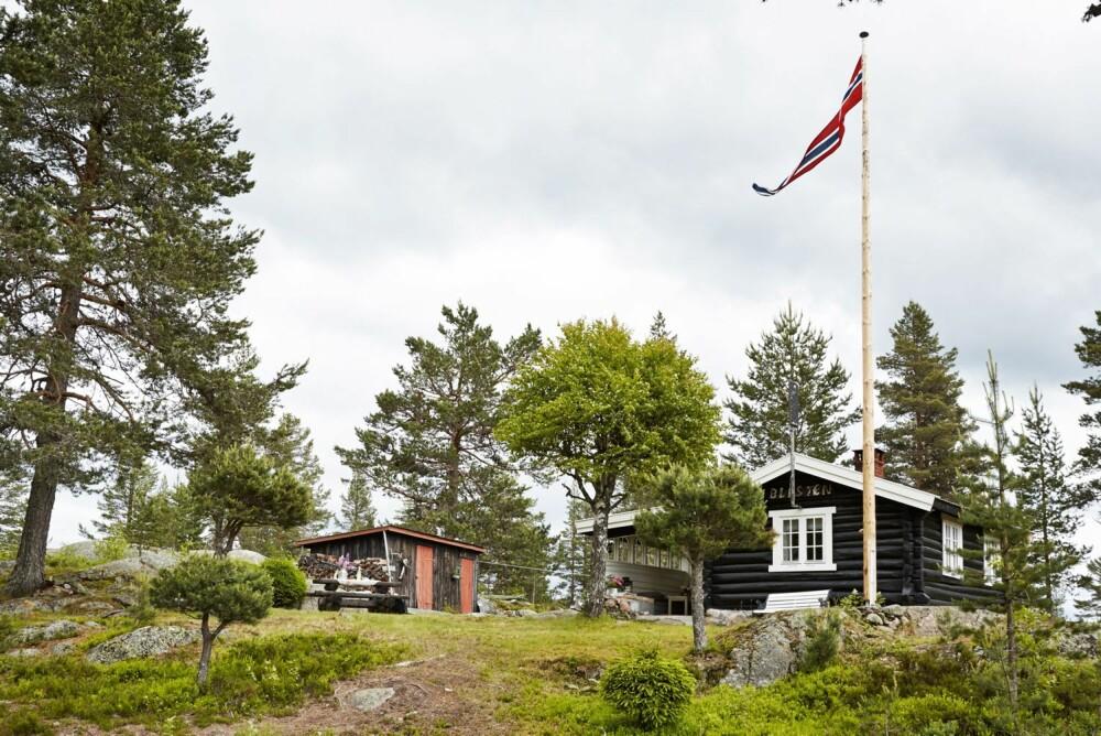 BYGGEÅR: 1954/55. Størrelse: 40 m². Eiere: Gry Kristiansen. Arkitekt: Selvbygger. Rominndeling: To soverom, kjøkken og stue. Fasiliteter: Solceller og utedo.