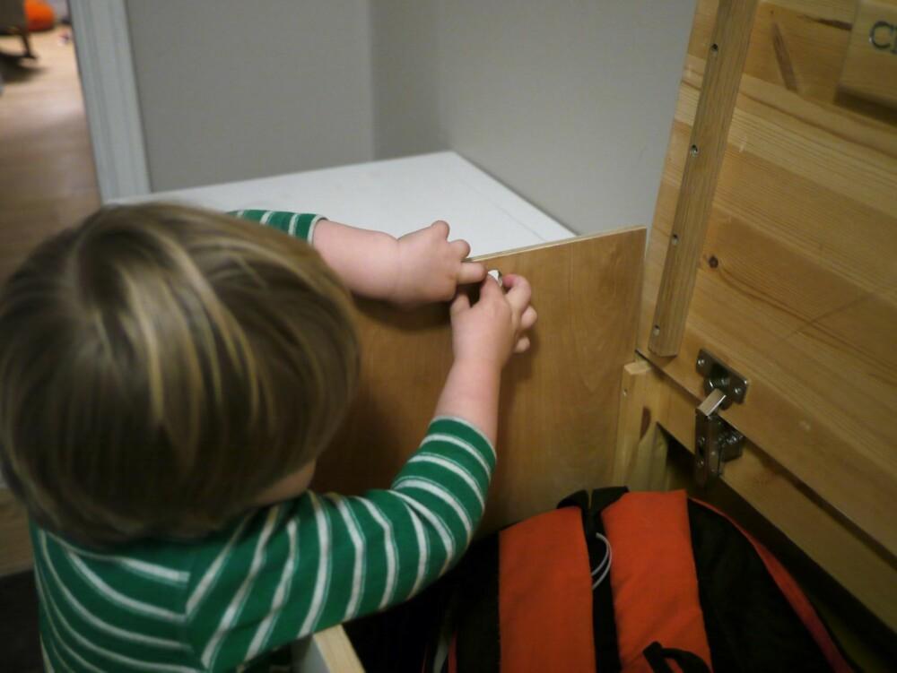 LØS SKILLEVEGG: Fleksibiliteten blir større med løse skillevegger.  De kan du sette mellom eller i rommene.