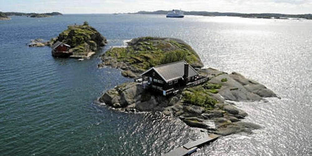 EGEN HOLME: I Sandefjordsfjorden kan du få fritidseiendom på egen holme. (Prisantydning: 9.900.000,- )