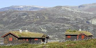 FJELLHYTTE: Det er små forskjeller på å forsikre en hytte uten strøm og vann.