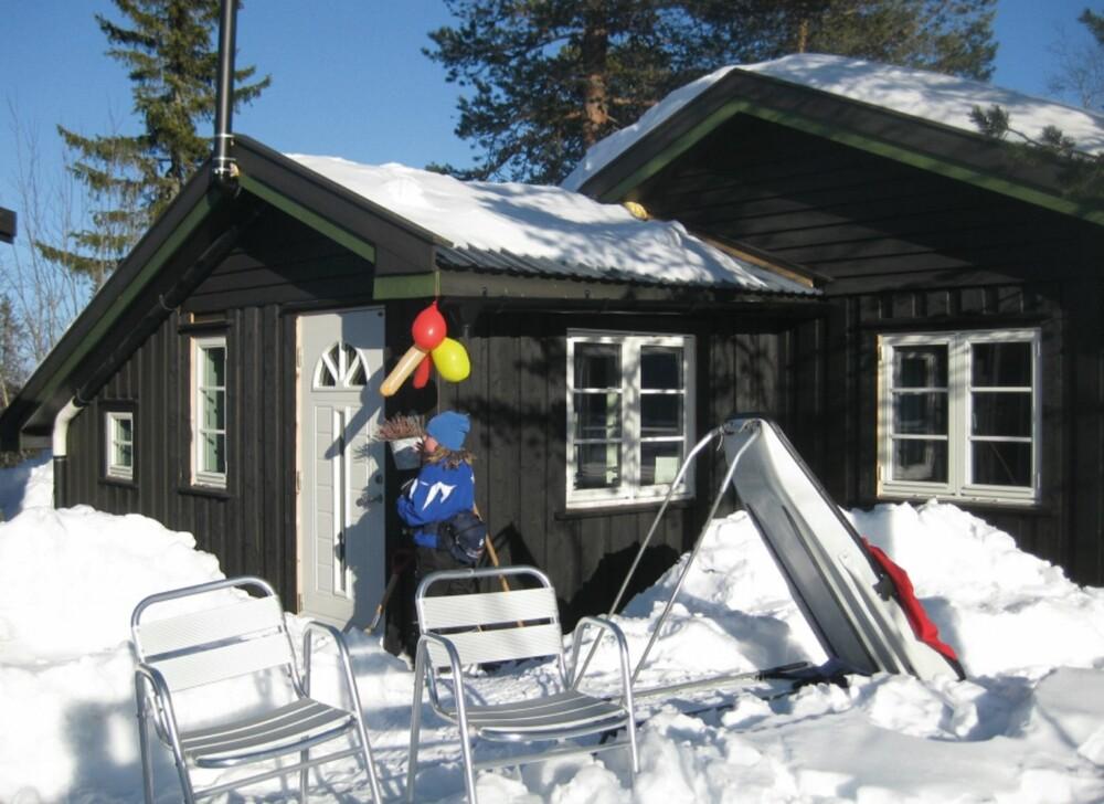 HEDERLIG OMTALE III: Flest stemmer på nettet fikk  hytta til Gro Myrvang Rørvik på Vikerfjell. Familiehytta har koselig, personlig innredning, harmonisk stil og representerer den norske folkehytta.
