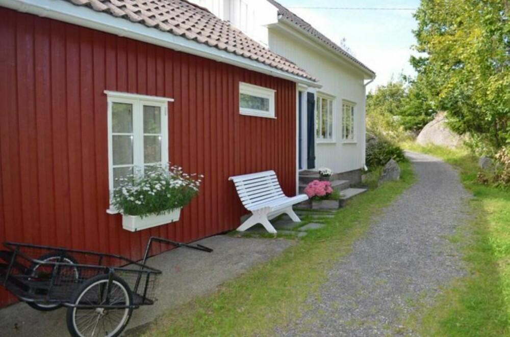 FINALIST: Hytta til Ann Kristin Hatletvedt på Åkerøya i Blindleia var blant finalistene.