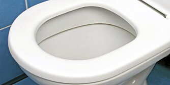 INGEN AVFALLSBØTTE: Dette er ingen avfallsbøtte, selv ikke for små unnselige ting som Q-tips og våtservietter.