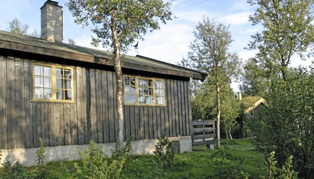 PÅ VEI UT: Den typiske 70-talls hytta, med enkel komfort, er på vei ut av folks drømmer. Nå er det enten laftede hytter eller arkitekttegnet modernisme som gjelder.