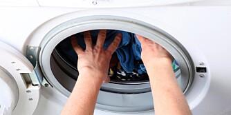 UNØDVENDIG: Tenk gjennom hvor mange tromler du egentlig trenger å ta i vaskemaskinen.