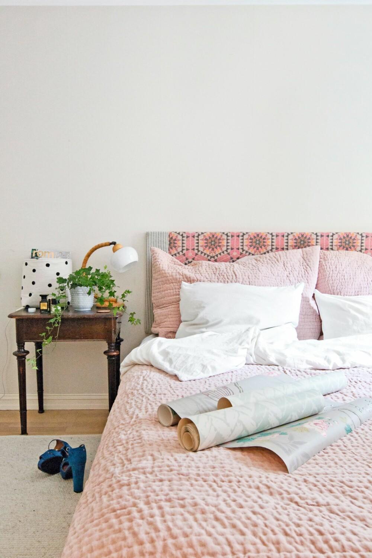 HODEGAVL: En hodegavl med tekstil liver opp et helt rom.