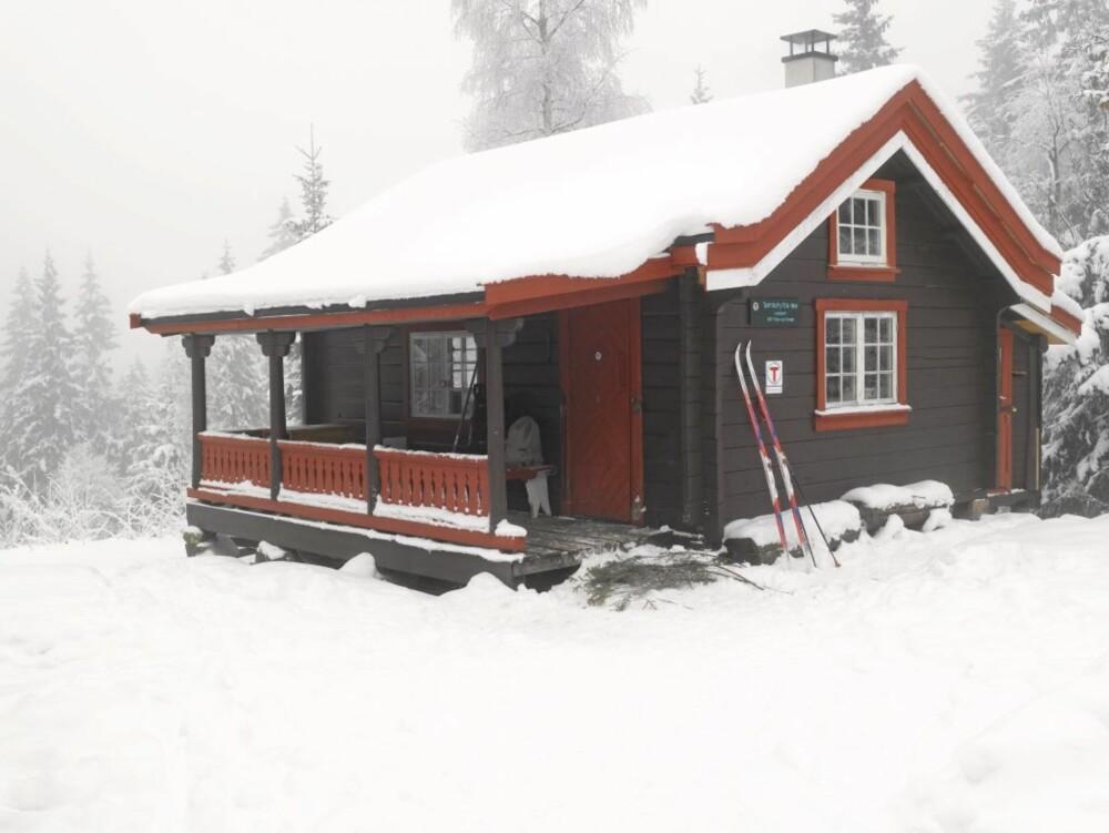 I SKOGENS RO: Lille Tømte ligger der litt for seg selv i Maridalen i Oslo.