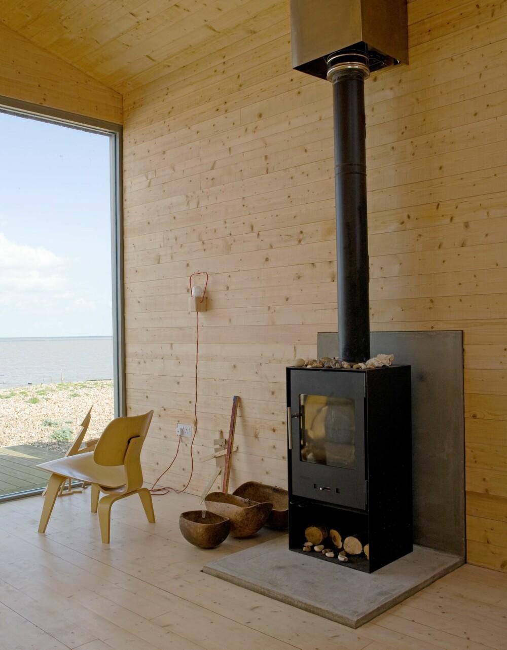 PEISKOS: En peis gir varme og hyttekos på kalde kvelder.