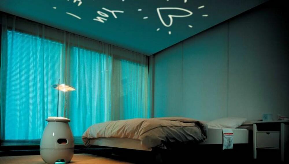 STYRER ALLE ROM: Smarthusløsninger gir deg anledning til å styre blant annet belysningen i rommene.