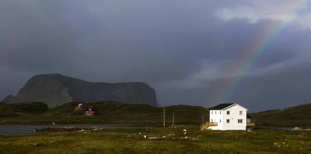 YTTERST I LOFOTEN: - Disse øyene har vært mitt folkeuniversitet, det er her jeg har lært mest, sier siddisen Per Fugelli