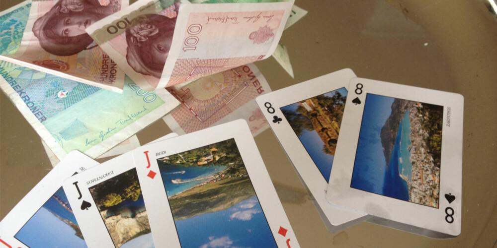 MANGE VERSJONER: Det finnes mange ulike versjoner av kortspillet poker.
