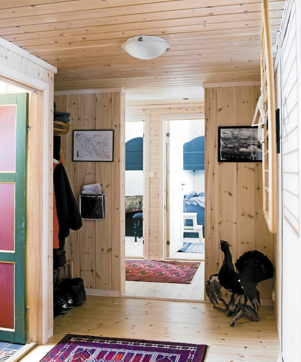 TILBYGGET: Det nye tilbygget ga plass til to soverom og et bad med dusj.