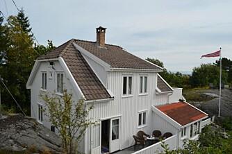 Arvehytta på Åkerøya i Blindleia