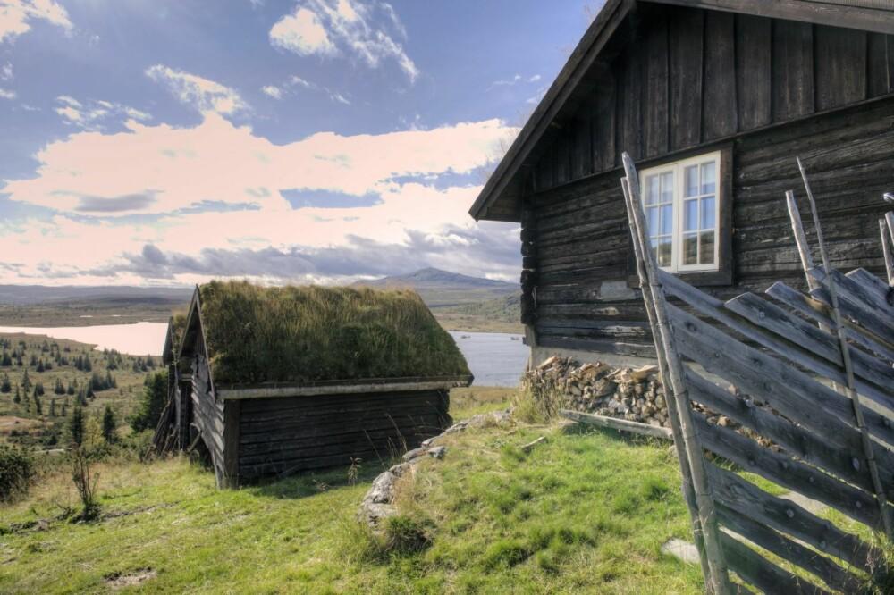 VAKKER UTSIKT: Ordene seter og støl tilhører forskjellige distrikter i Norge. Støl brukes i betydningen å reise på stølen, som da er både jordet, fjøset og hovedhuset, som blir kalt selet. Hovedrommet blir også kalt sel. Selet er altså både hovedrommet og selve bygningen. I tillegg er det to rom; kleven, som ofte ble benyttet som soverom, og melkebua, der man silte melken og bearbeidet den.