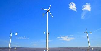 VINDKRAFT: Vindkraft egner seg best for hytter på fjellet, som ligger ganske fritt, og der det blåser en del.