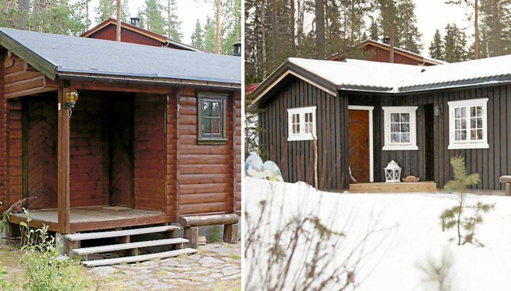 NYTT TILBYGG: Det startet med et leserbrev i Hytteliv, og nå står tilbygget klart. Større hytte har gitt familien Lind en mer brukervennlig hytte.