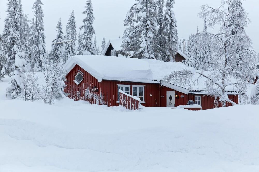 SNØRIKT: Om vinteren er hytta et godt utgangspunkt for skiturer.