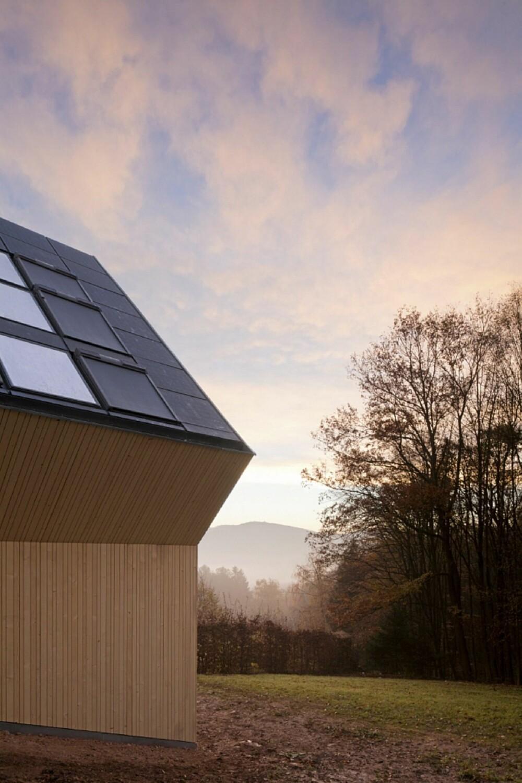 DESIGN FOR FREMTIDEN Huset stiluttrykk understreker at dette er en spesiell bygning.