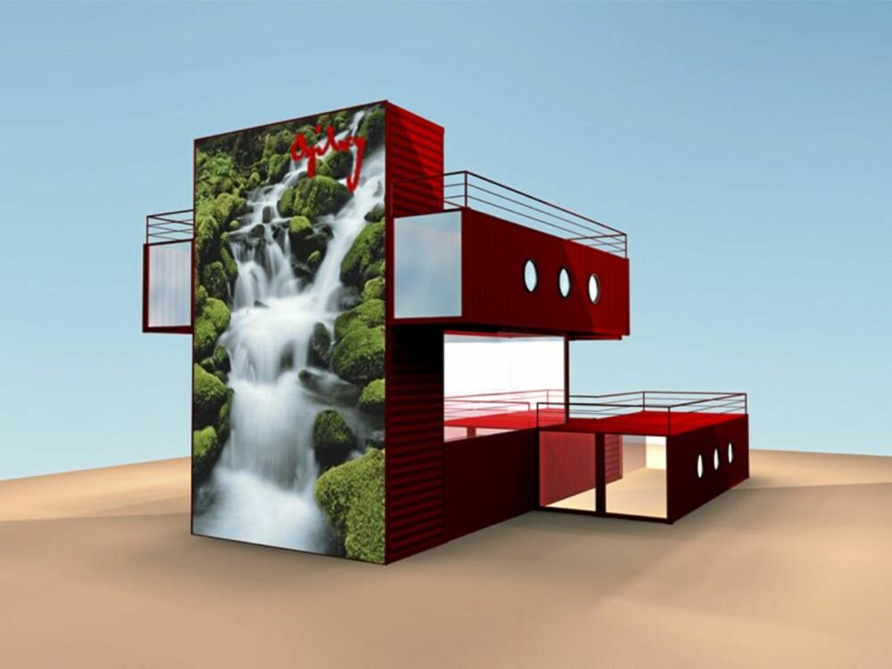 Prosjekt for Ogilvy av mmw architects of Norway.