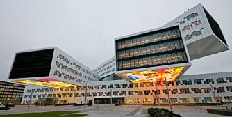 MONUMENTALT: Statoils nye regionkontor på Fornebu har unektelig en form som skaper oppsikt, også utover Norges grenser.