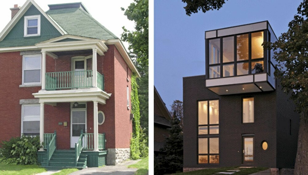 Echo House var i viktoriansk stil. Nå har det fått et totalt  forandret uttrykk.