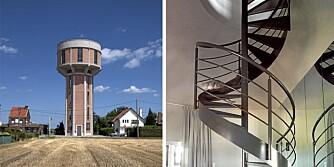 TÅRNBOLIG: Boligen ligger i den belgiske landsbyen Steenokkerzeel. Interiørarkitekt Mauro Brigham har hatt ansvaret for interiøret og å koordinere prosjektet.