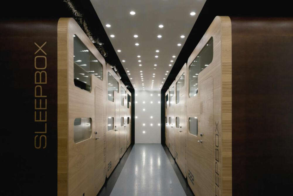 """PLASS TIL MANGE: Når hvert hotellrom bare tar opp 4m2, sier det selg selv at man har plass til mange """"rom""""."""