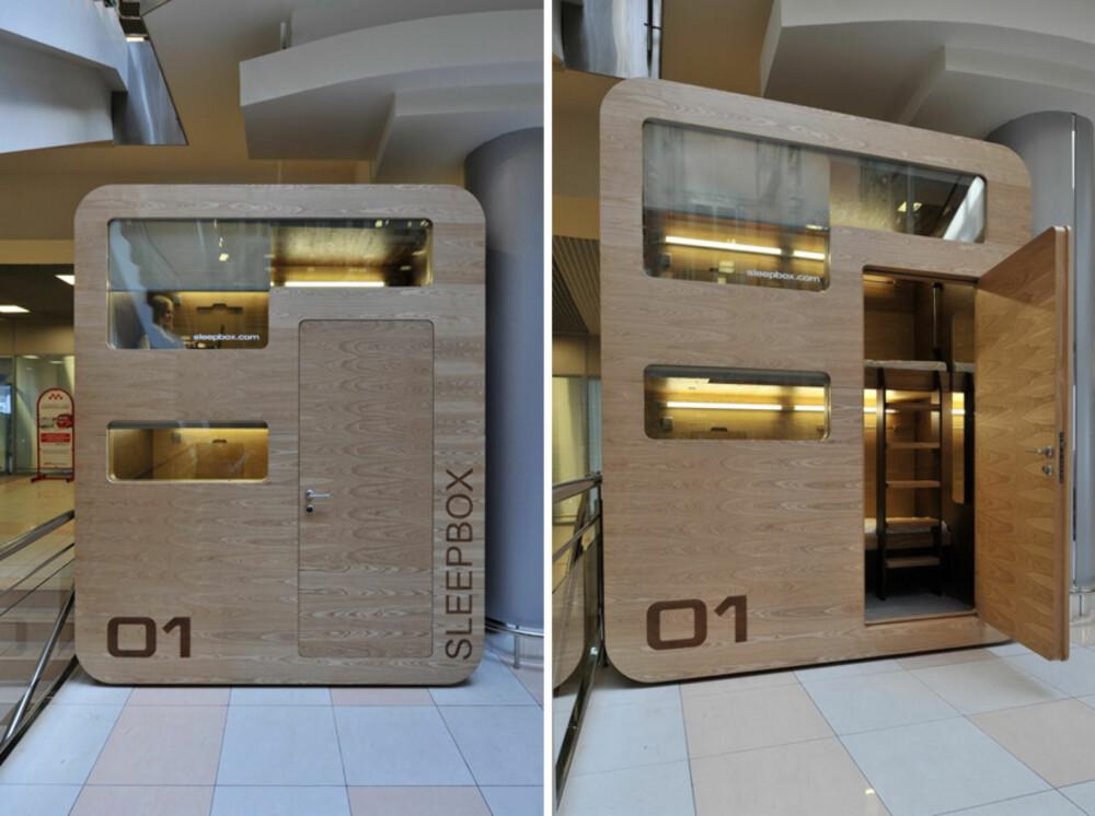 BO SMART: Sovekapsler hvor reisende kan finne hvile er fremtiden mener disse arkitektene.
