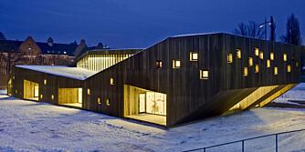 UNIK: Denne trebygningen i Oslo er nok en av landets flotteste barnehager.