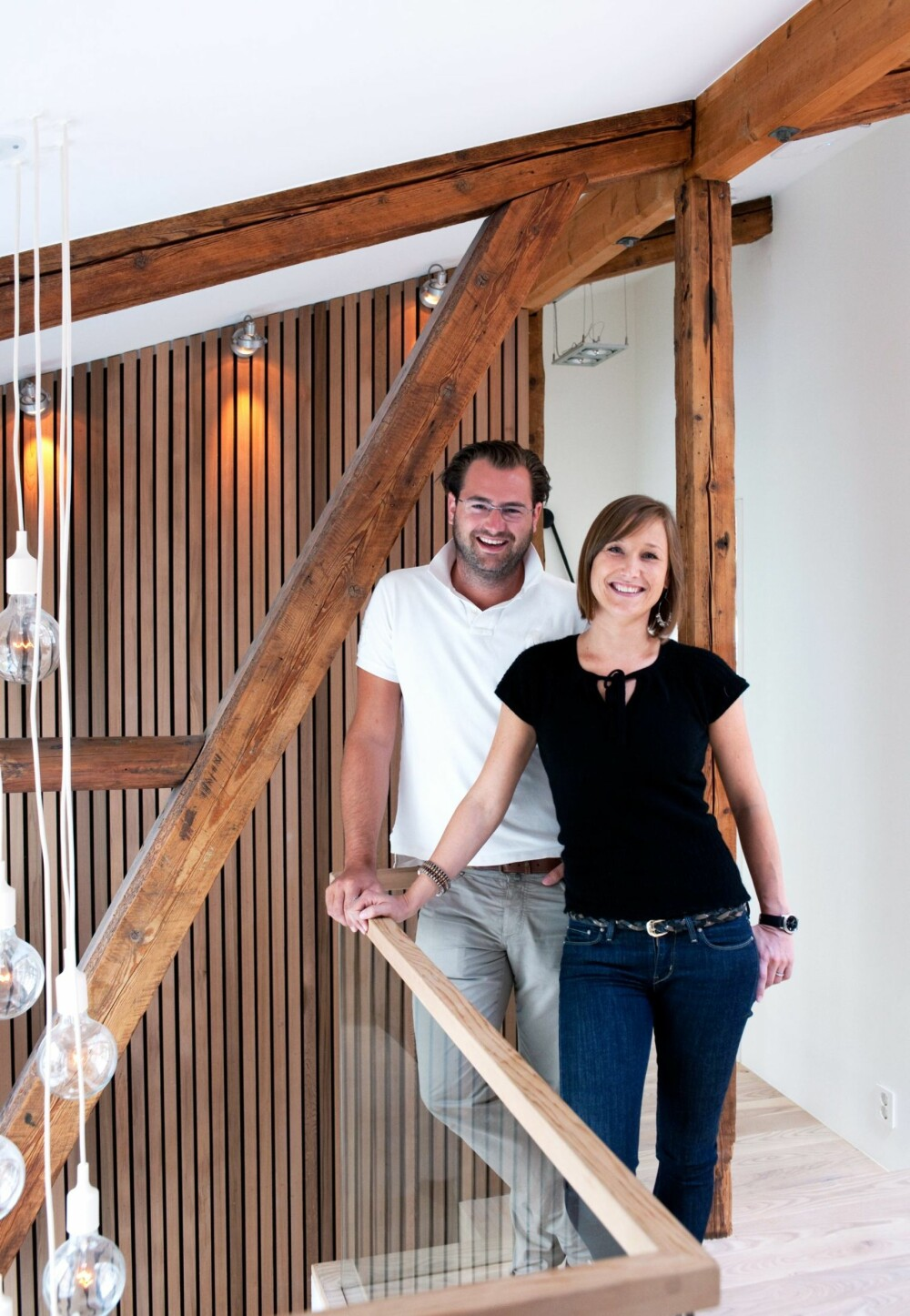 ARKITEKTPARTNERE: Christian Fredrik Morgenstierne og Johanne Taugbøl er partnere i firmaet Wood A+D.