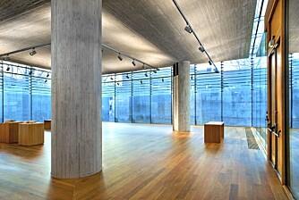 """""""FEHNISK"""": Arkitekturmuseets nye del, som ligger på Bankplassen i Oslo, er tegnet av Sverre Fehn."""