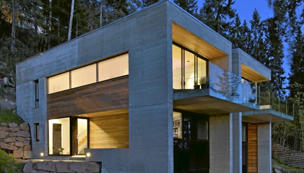 Oppsiktsvekkende Holmenkollens kuleste villa er en tomannsbolig - Inspirasjon SY-75