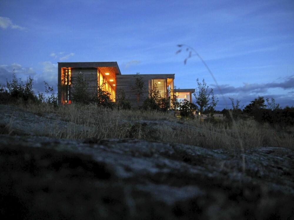 PEN PROFIL: Også fra siden er hytta fra SH arkitekter et hamonisk syn.