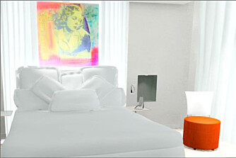 KJÆRLIGHETENS BY: Paris har mange hoteller, men få er så gjennomført sexy som Murano.