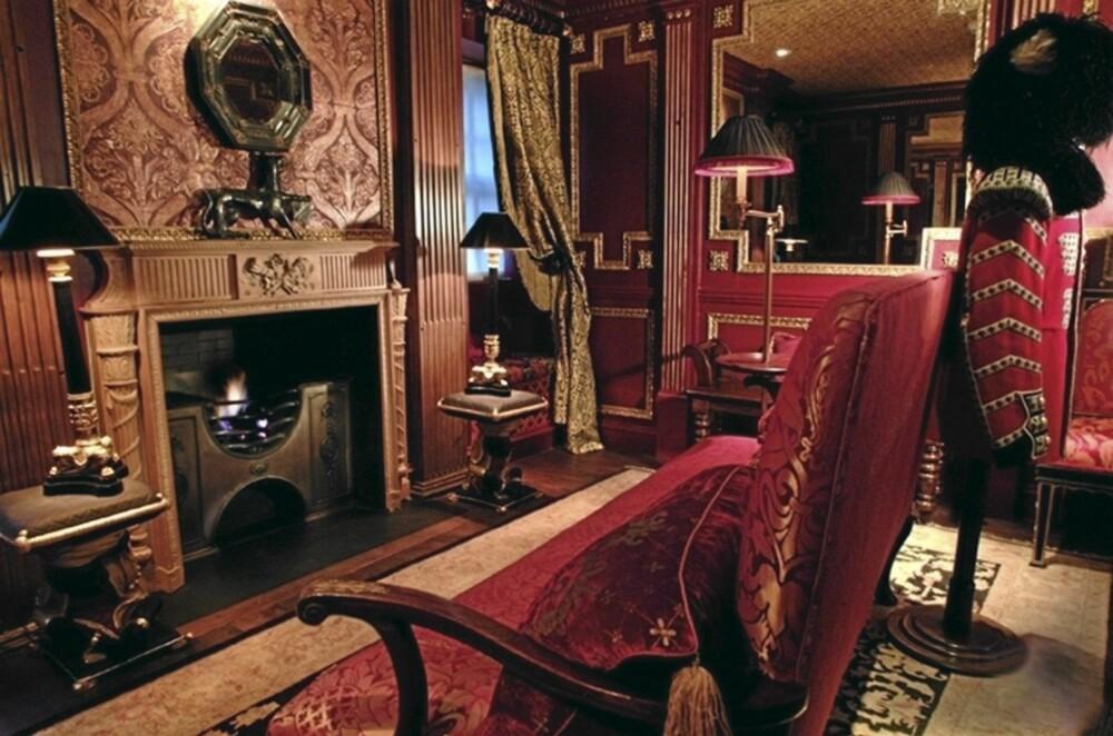 HEKSEHOTELL: På The Withery i Edingburgh er rommene beholdt i stilen fra da bygget ble til på 1600-tallet.