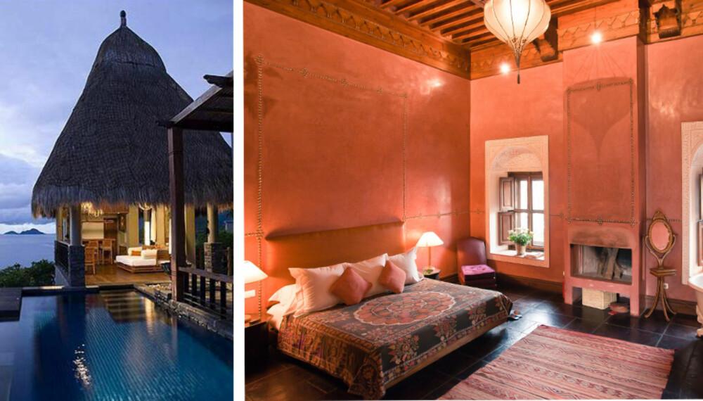 ROMANTIKK OG MYSTIKK: På disse hotellene er det vanskelig å la være å finne tilbake til romantikken.