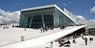 VERDENSTOPPEN: Når det amerikanske design- og arkitekturmagasinet Wallpaper deler ut sine priser for 2011, havner Oslo, med blant annet Operaen, på topp-5 listen.